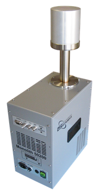 HPGe detector with electrical cooling based on Stirling type cooler