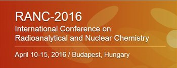 Radioanalytical and Nuclear Chemistry (RANC 2016)