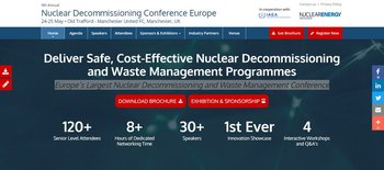 9th Annual Nuclear Decommissioning Conference Europe